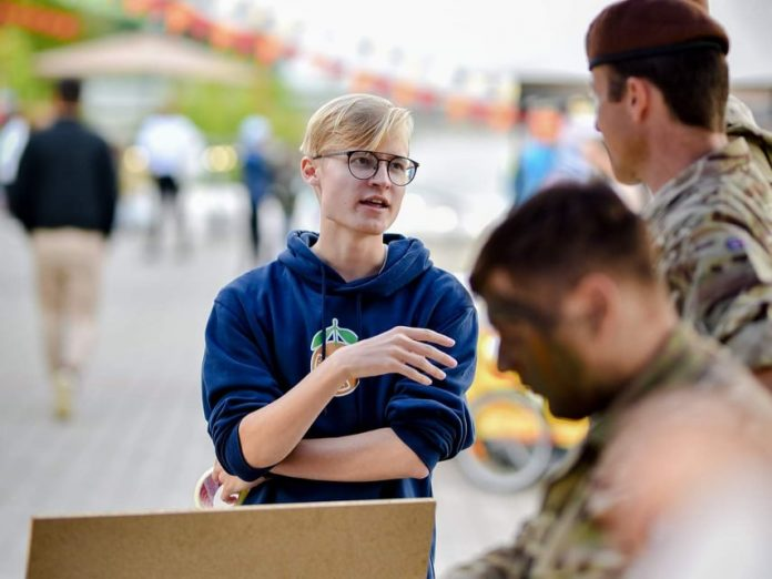Максим Васин на фестивале Summer Comes Tomorrow в Нарве. Фото из личного архива