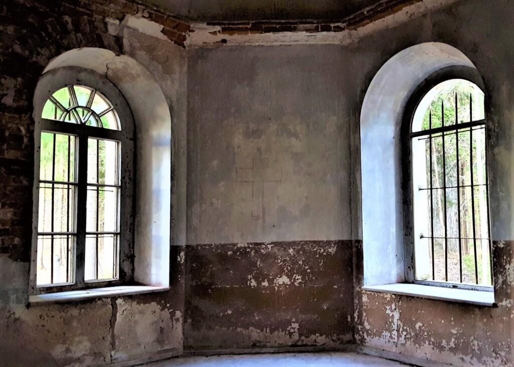 Заброшенная церковь Иоанна Предтечи в Галгауске. Фото: Ксения Савчук