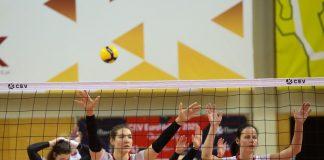Женская сборная Латвии по волейболу. Фото: Сергей Кузнецов