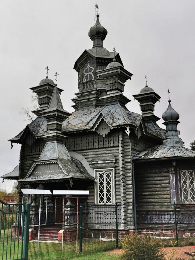 Церковь Александра Невского, построенная без единого гвоздя