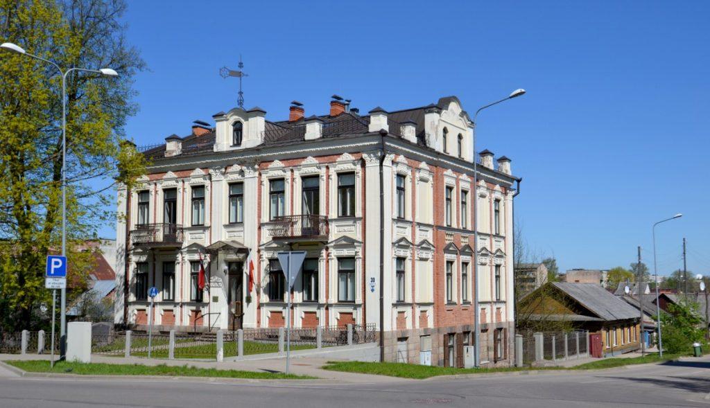 Польский дом в Даугавпилсе. Фото: Елена Иванцова