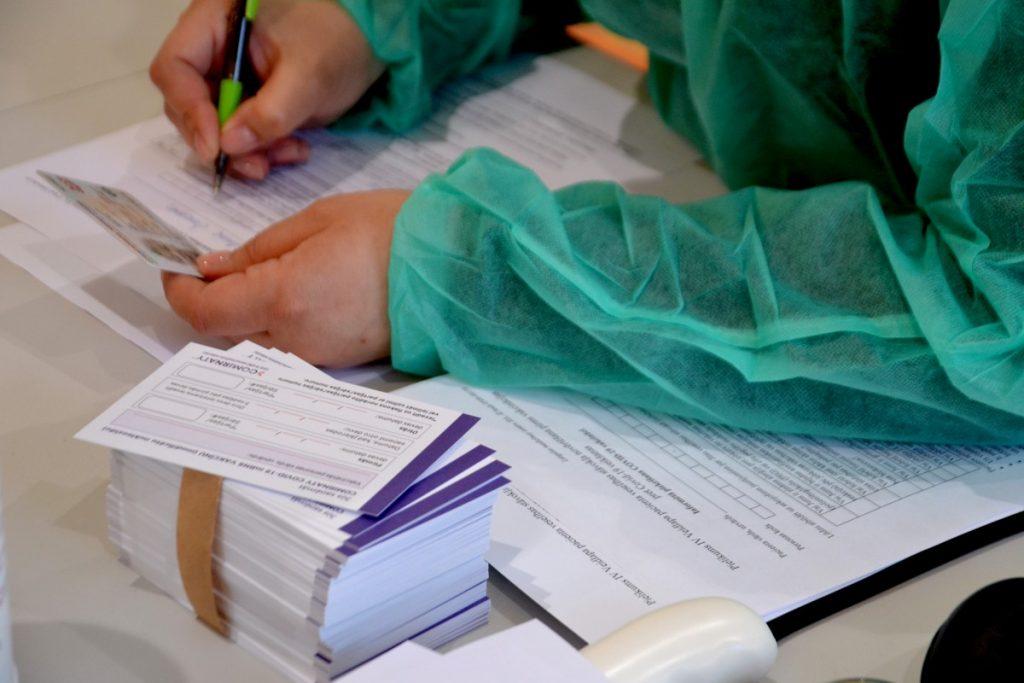 Мобильная вакцинация в Силене. 12 мая 2021 года. Фото: Елена Иванцова
