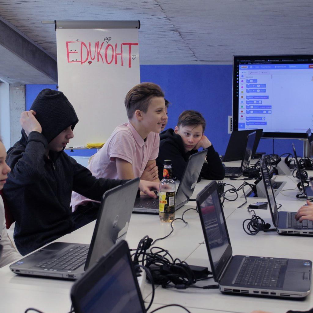 Студенты школы программирования EDUKOHT. Фото из архива Владислава Виртонена