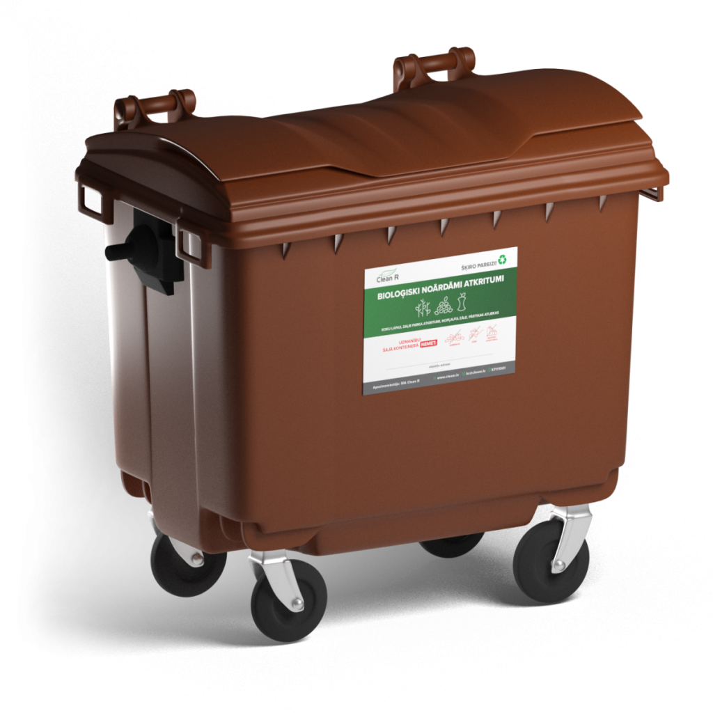 Контейнер для биоразлагаемых отходов. Фото: Clean R