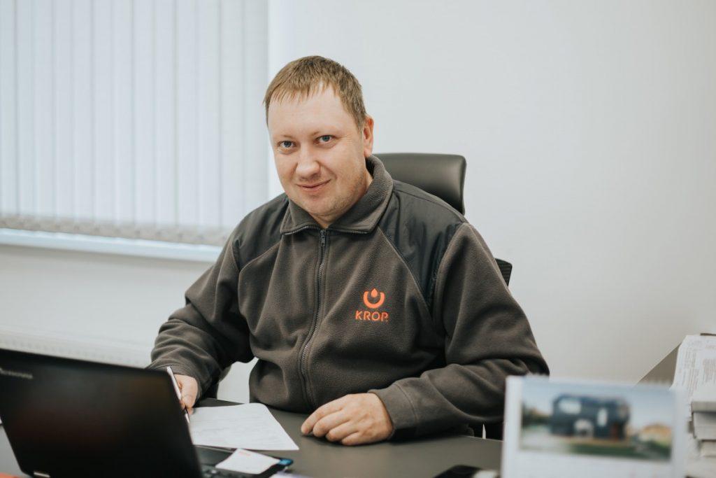 Руководитель Latgales Jumikis, Леонид Андреев. Фото: Ирина Маскаленко