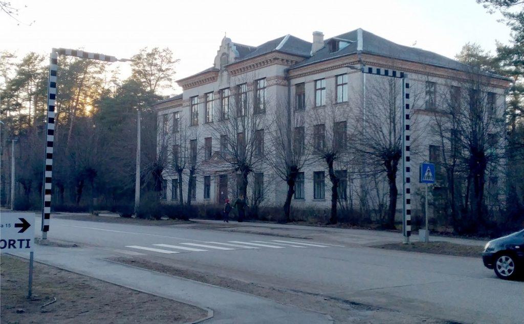 Бывшая 4-я специальная школа в Даугавпилсе. Апрель 2021 года. Фото Елены Иванцовой