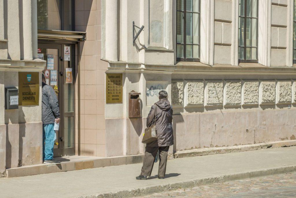Социальная служба Даугавпилса. 31 мая 2021 года. Фото: Евгений Ратков