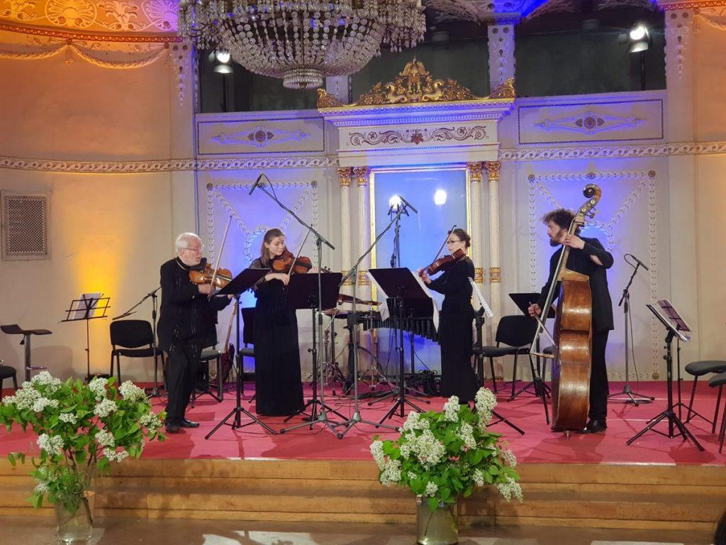 Концерт к 208-летию Вагнера в Риге с участием Гидона Кремера. Фото: Ингрида Земзаре