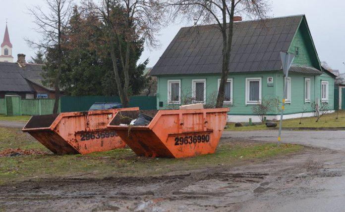 Контейнеры для зелёной массы. Фото: daugavpils.lv
