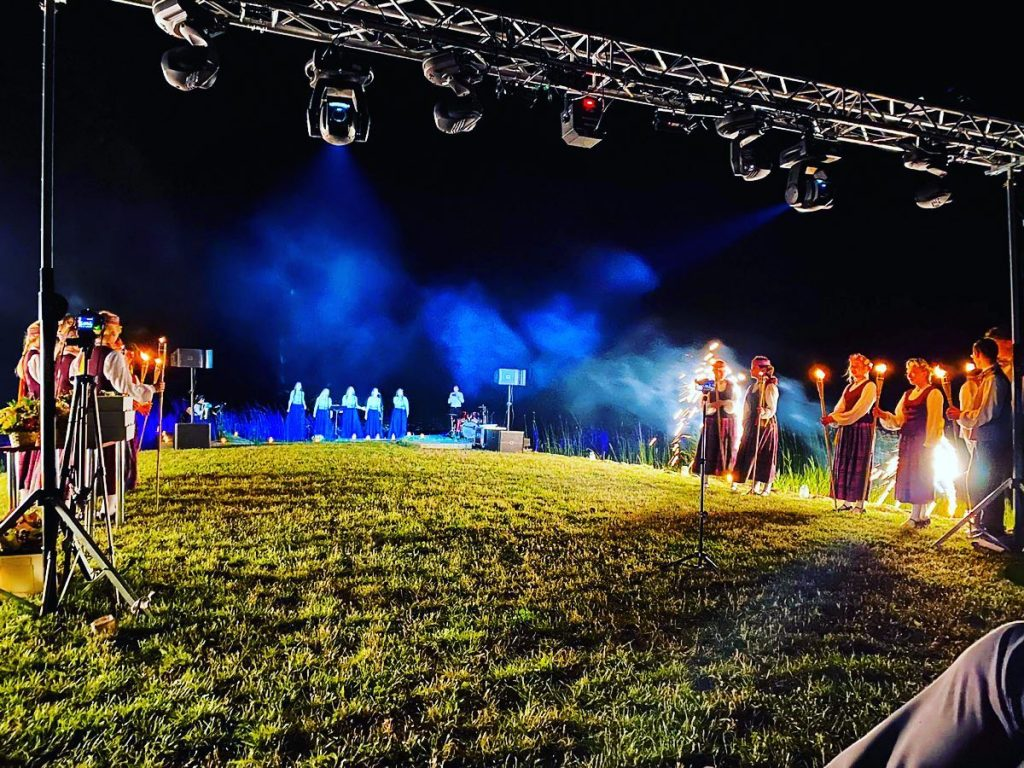 Концерт ансамбля Anima Corde в августе 2020 года. Фото со страницы ансамбля на фейсбуке