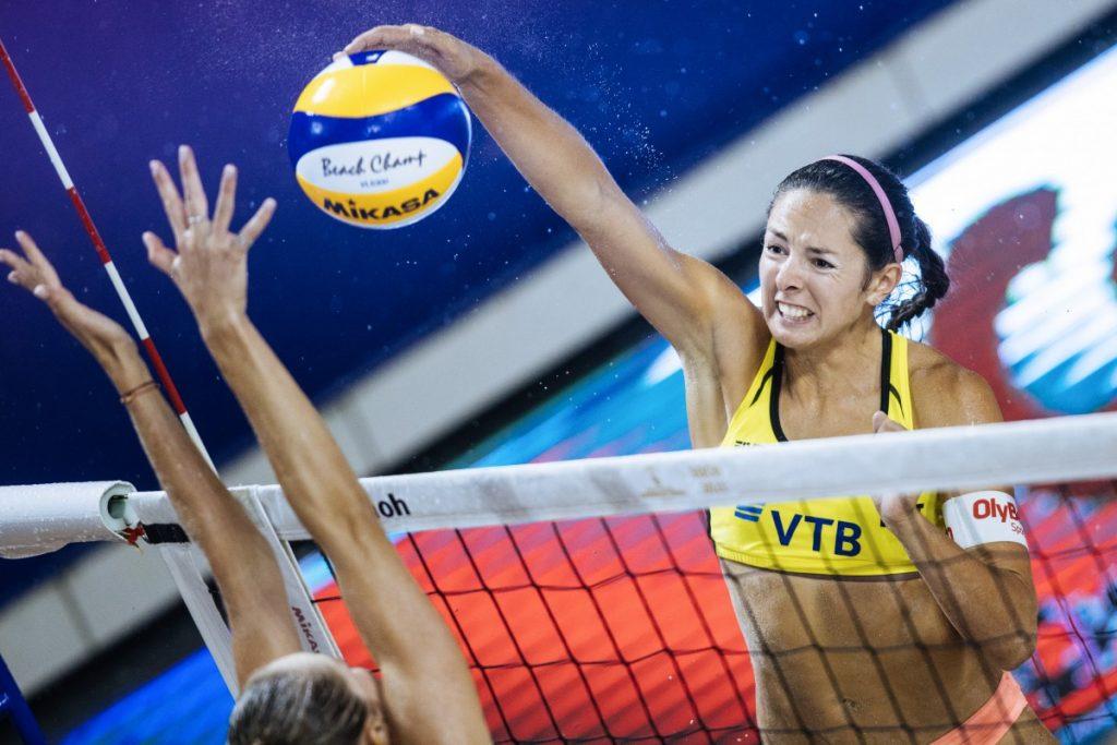Анастасия Кравченок. Фото: volleyballworld.com