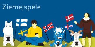 Иллюстрация к веб-игре «Есть ли в тебе североевропеец?»