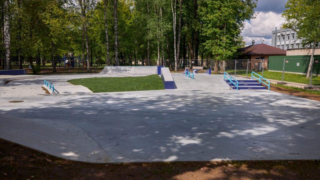 Скейтпарк в Резекне. Фото rezekne.lv