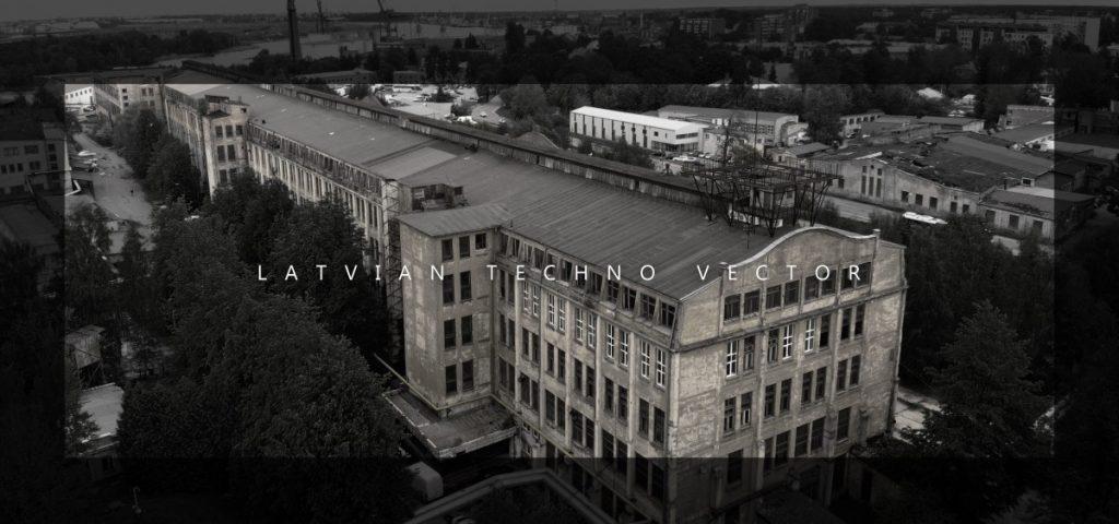 Latvian Techno Vector Poster