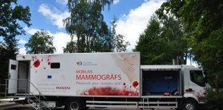Мобильный маммограф. Фото: Daugavpils novada pašvaldība