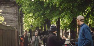 """Съёмки фильма """"Еврей"""" в Лиепае. Июнь 2021 года. Фото: Эгонс Зивертс"""