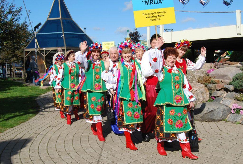 """Фестиваль """"Червона Калина"""" в Риге. Фото из архива Надежды Стаховской"""