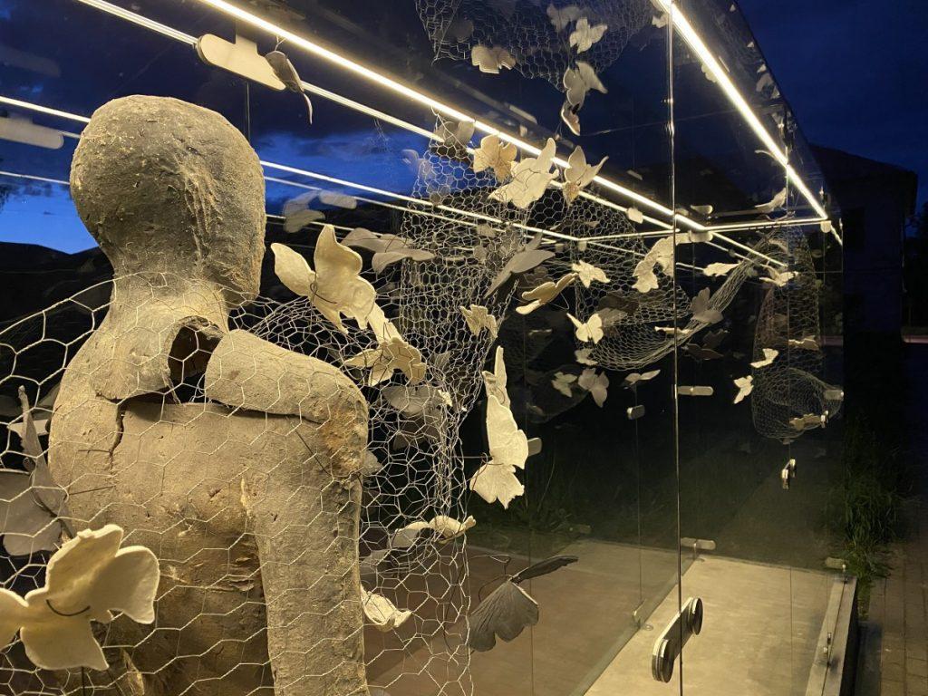 Экспозиция «Кислородные мечты» в Даугавпилсской крепости. Фото: Айвар Барановский