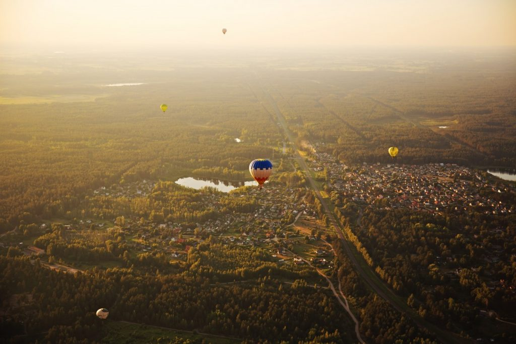 Фестиваль воздушных шаров на празднование 746 города Даугавпилса. Фото: Ирина Маскаленко