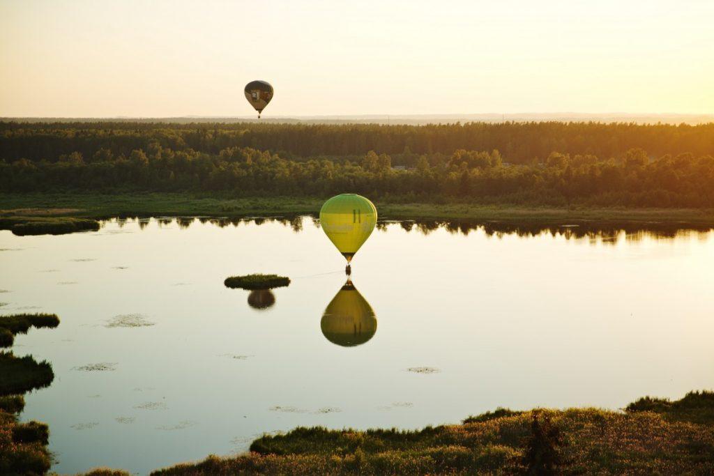 Фестиваль воздушных шаров на празднование 746-летия города Даугавпилса. Фото: Ирина Маскаленко