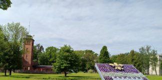 Один из обсуждаемых объектов - Saules kalns и реконструкция сада Единства рядом с пожарной станцией. Фото: Елена Иванцова
