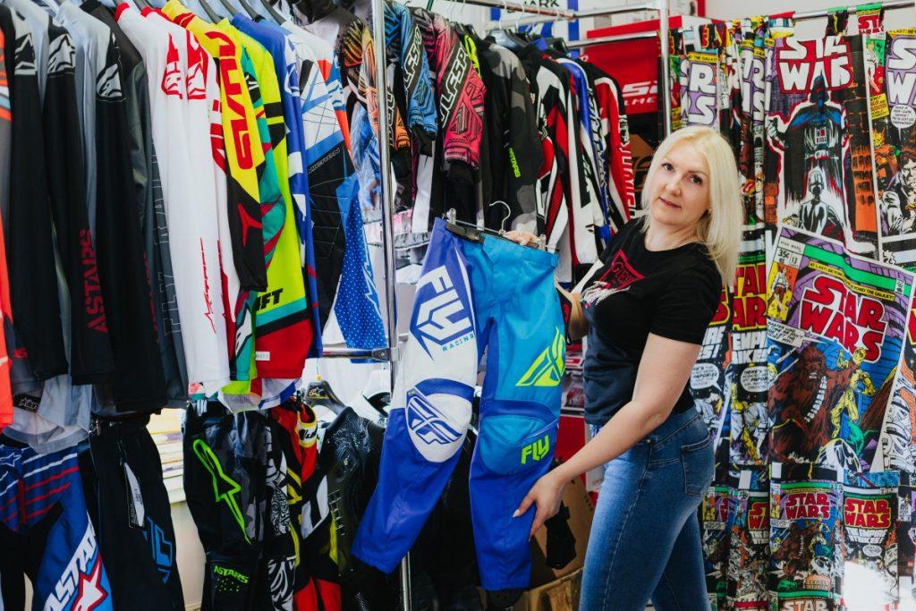 Татьяна Кожемякина, хозяйка магазина для мотолюбителей «Moto-D»