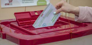 Выборы-2021 в Даугавпилсе. 5 июня 2021 года. Фото: Евгений Ратков