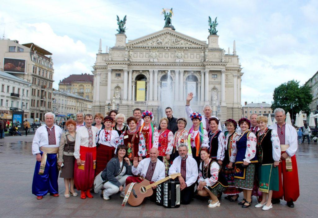 На всемирном конгрессе украинцев, Львов, 2010 год