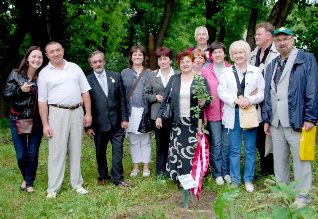 На всемирном конгрессе украинцев во Львове, 2010 год