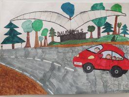 Рисунок Лауры, 12 лет. Изображение со страницы Daugavpils.Travel на фейсбуке