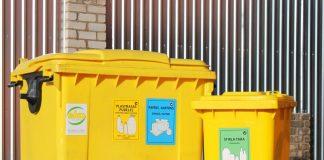 Сортировочные контейнеры. Фото: ekokurzeme.lv