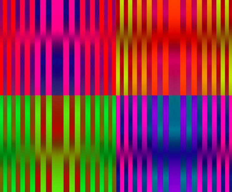 Цвет света: утопические абстракции