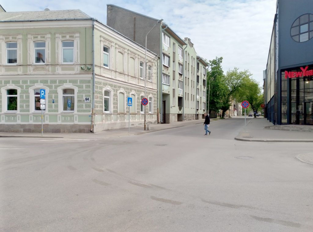Улица Саулес в Даугавпилсе. Фото: Елена Иванцова