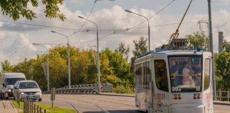 Трамвай в Даугавпилсе. Фото: Daugavpils pilsēta