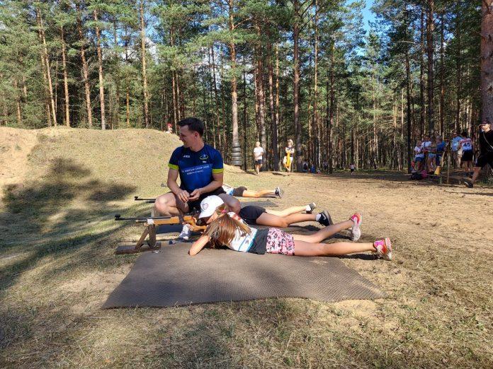 Открытый чемпионат спортшколы Даугавпилса по биатлону. 9 июля 2021 года. Фото: Сергей Кузнецов