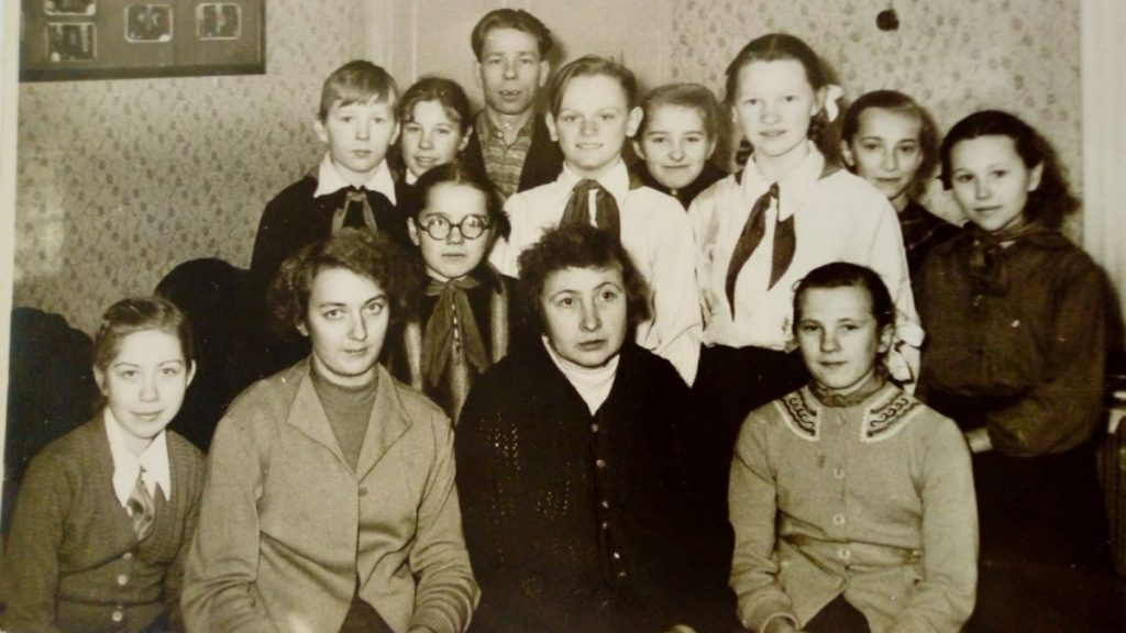 Драмкружок. Фото из архива Тамары Дорофеевой