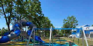 детская площадкав лудзе