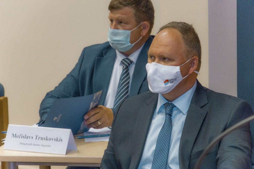 Первое заседание думы Даугавпилса нового созыва. 1 июля 2021 года. фото: Евгений Ратков