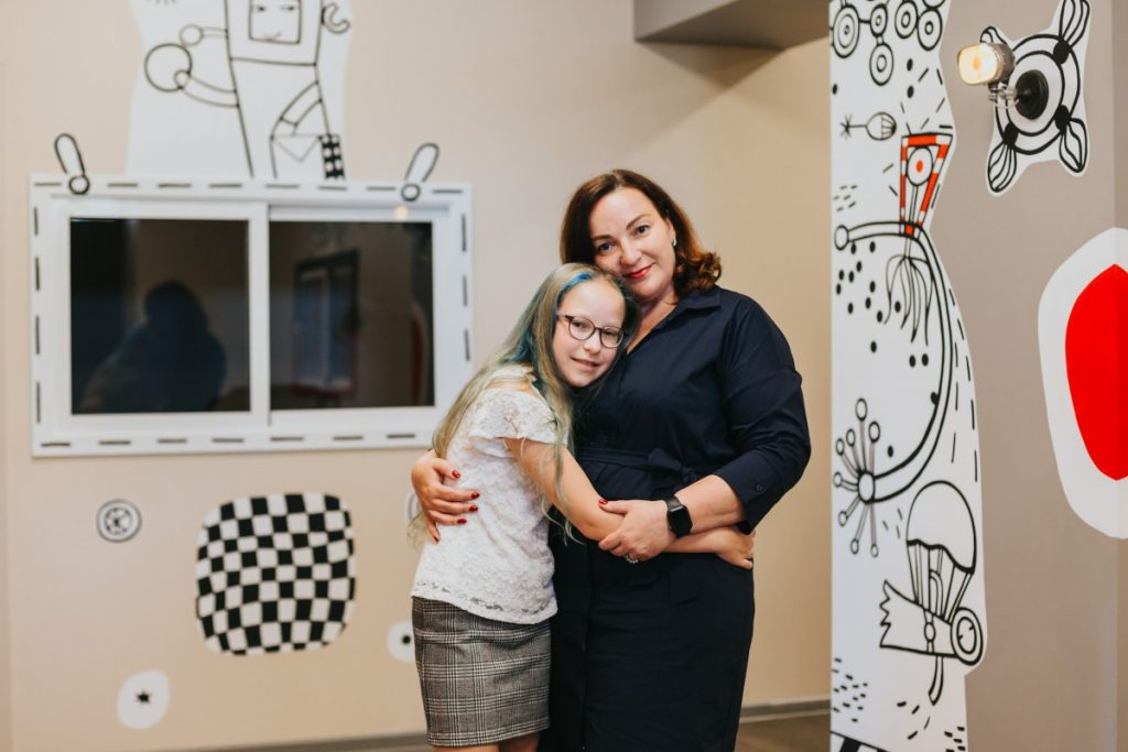 Наталия Цветкова, мама Стефании