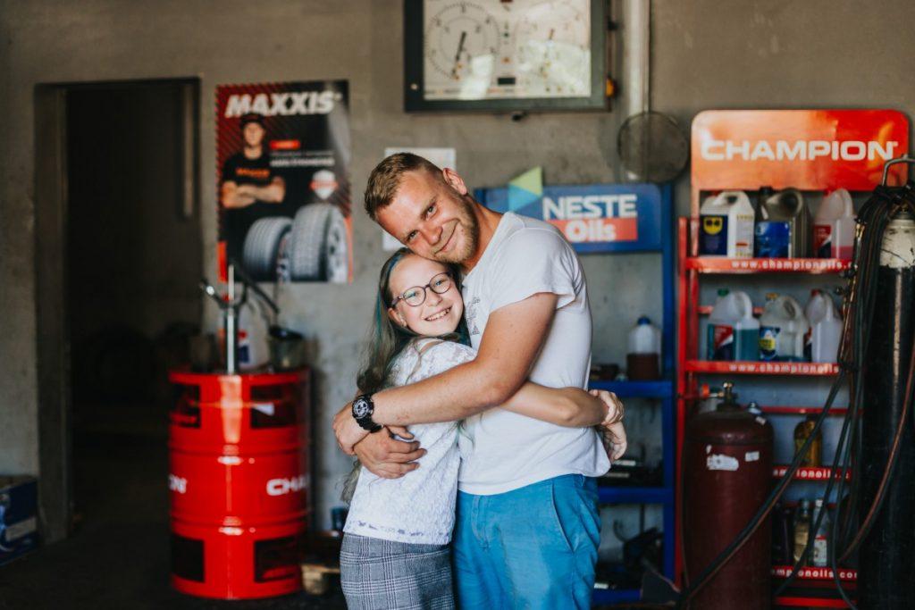 Стефания с братом, Владиславом. Фото: Ирина Маскаленко