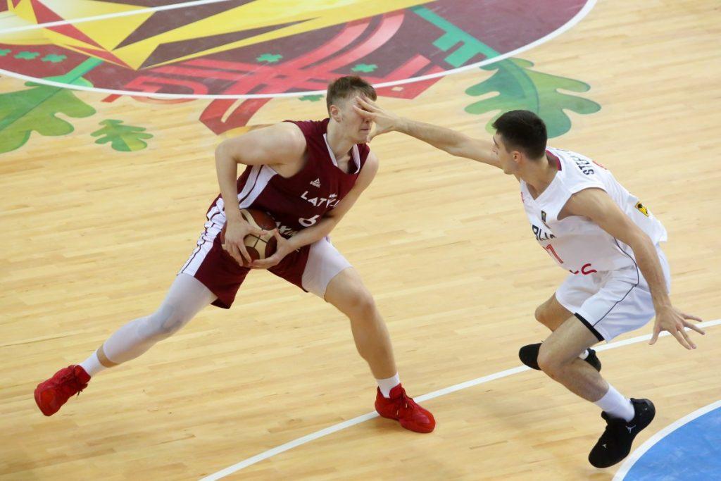 Латвия - Сербия. Чемпионат мира U19 по баскетболу, Даугавпилс, 6 июля. Фото: Сергей Кузнецов