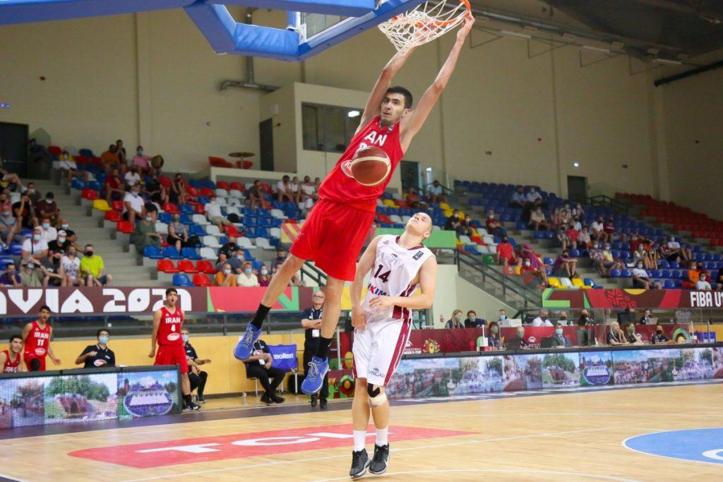 Латвия - Иран. Чемпионат мира U19 по баскетболу. Даугавпилс, 4 июля 2021 года