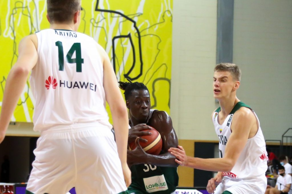 Литва - Сенегал. Чемпионат мира U19 по баскетболу. Даугавпилс, 4 июля 2021 года. Фото: Сергей Кузнецов