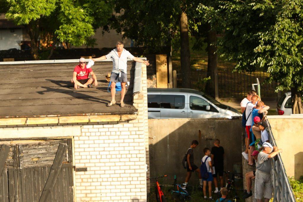 """Optibet Lokomotiv"" - ""7R Stolaro Stal"". Даугавпилс, 18 июля 2021 года. Фото: Сергей Кузнецов"