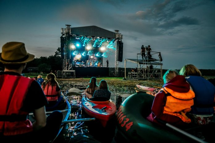 Фестиваль «В лодке». Фото: Лаурис Виксне