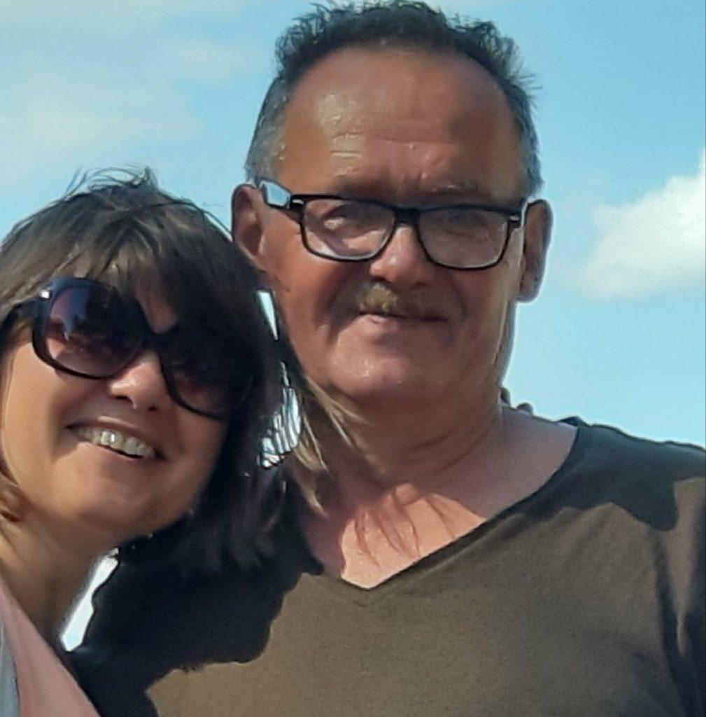 Янис с женой Татьяной. Фото из личного архива