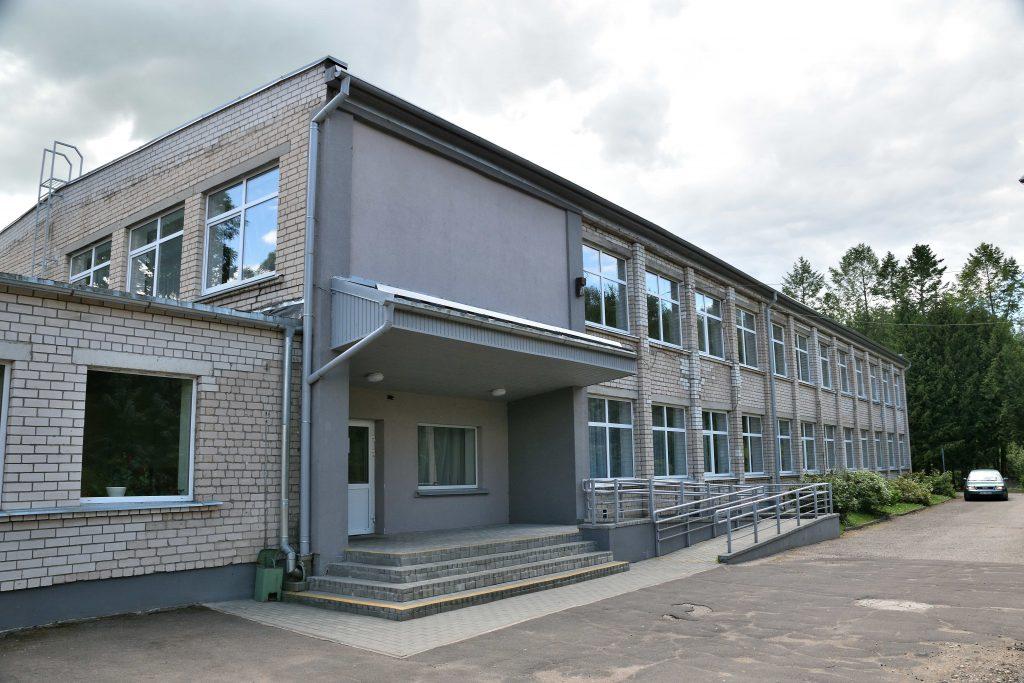 Здание техникума. Фото думы Аугшдаугавского края