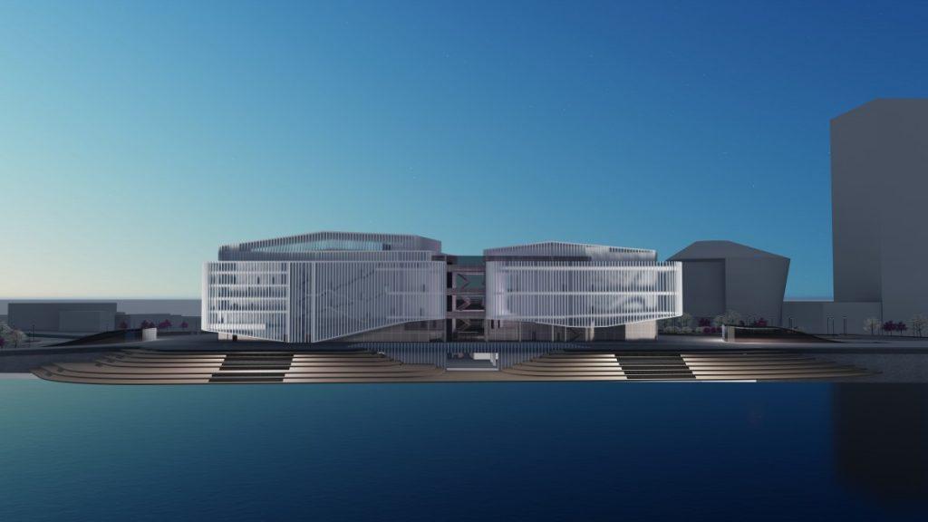 Проект концертного зала Виестурса Балодиса