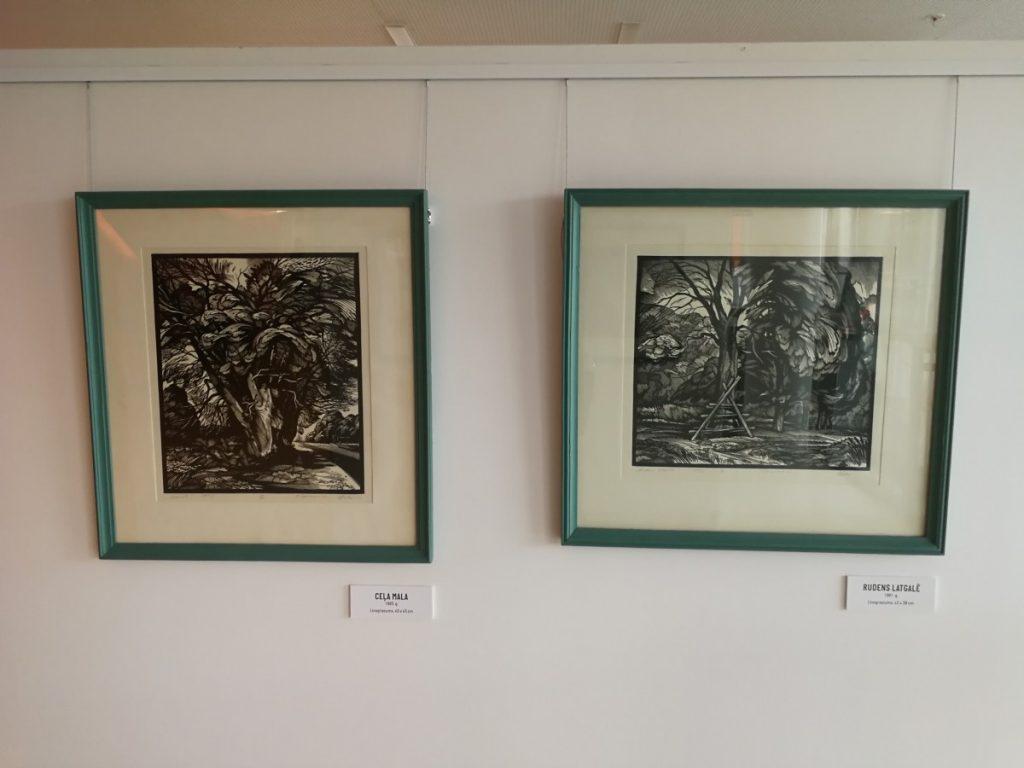 Выставка Павла Остапцева в Латгальском посольстве Gors. Фото: Андрей Шаврей