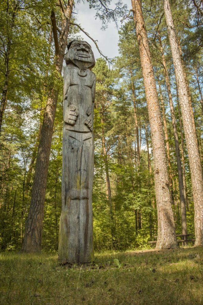Деревянные скульптуры в Стропах. Июль 2021 года. Фото: Евгений Ратков